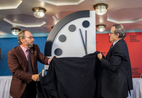 Doomsday clock moves closer than ever to Apocalypse as nuclear war threat pushes it 20 seconds nearer to midnight
