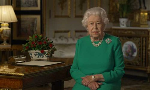 The Queen reassures nation that 'better days will return' during TV broadcast on coronavirus crisis