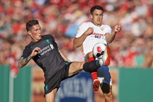 Liverpool 1-2 Sevilla: Reds lose in friendly marred by shocking tackle on Larouci