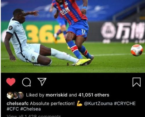 John Terry hails match-winning Kurt Zouma tackle on Instagram