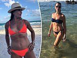 Brooke Shields says her daughters gave her the confidence to rock a bikini at age 55