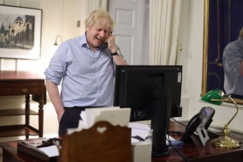 Boris Johnson becomes first European leader to speak to US President Joe Biden
