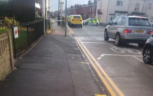 Wigan 'double stabbing': Two women injured in attack