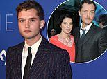 Rafferty Law says growing up with famous parents didn't put him off following them into acting