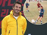 David Beckham 'signs a big money deal with Disney+ for series about young footballers'