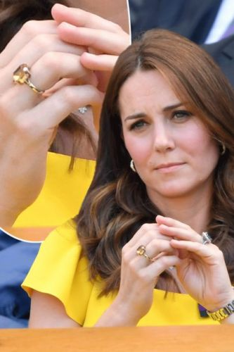 Kate Middleton citrine ring: The cost of the Duchess of Cambridge's rumoured 'push present' from Prince William following Prince Louis birth revealed