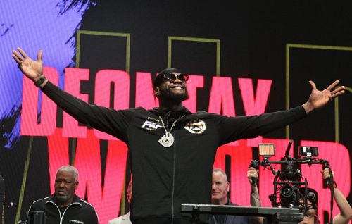 Deontay Wilder sends message to Anthony Joshua over unification fight hours before Tyson Fury rematch