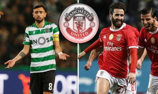 Bruno Fernandes' 'last' Sporting Lisbon game suspended as fans throw flares onto pitch with Man Utd transfer imminent