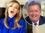 Katherine Jenkins sings Happy Birthday to Piers Morgan on Good Morning Britain