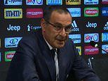 Maurizio Sarri unveiled as new Juventus manager as Italian champions launch new era