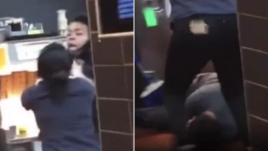 Raging woman batters epileptic McDonald's worker, 17, for taking too long to took her bacon