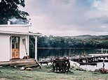 Inside Tasmania's cosiest beach shack: How former scientist fixed up a cottage called Captain's Rest