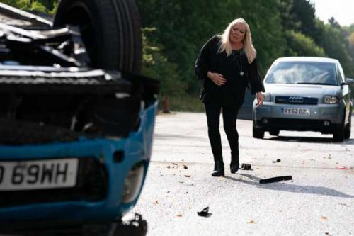 First look at Mel Owen car crash aftermath in EastEnders