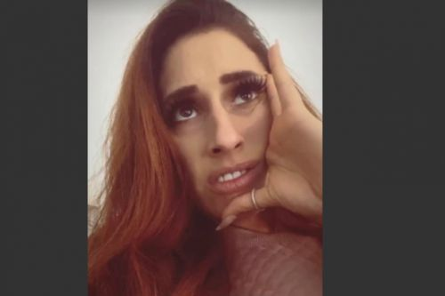 Stacey Solomon 'pooing her pants' after making Netflix horror ghost decorations
