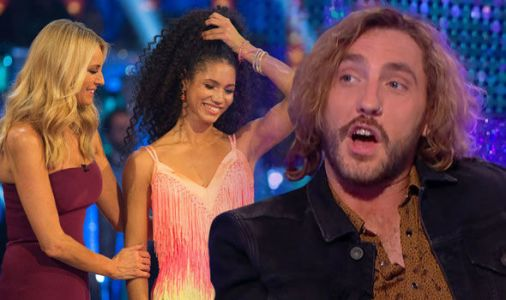 Strictly Come Dancing 2018: Tess Daly comforts Vick Hope after Seann Walsh eliminates her