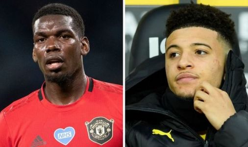 Man Utd star Paul Pogba has expressed Jadon Sancho transfer excitement in private