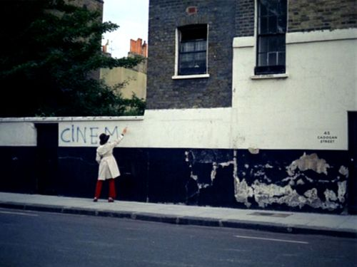 On Location: The graffiti wall from Sympathy for the Devil