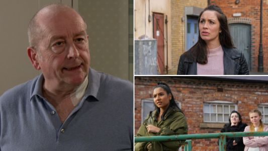 Coronation Street spoilers: 22 new images reveal the moment Geoff is caught out, Shona's saviour and Asha's bravery