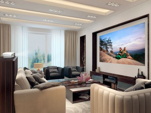 Epson's $1,700 projector is more expensive than an average TV, but its bright image and and flexible installation allow you to enjoy a truly big screen experience in any room