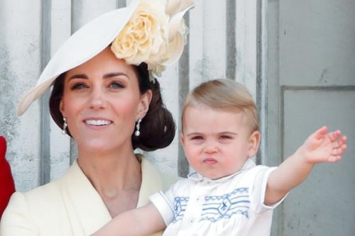 Kate Middleton reveals which celebrity's name was one of Prince Louis' surprising first words
