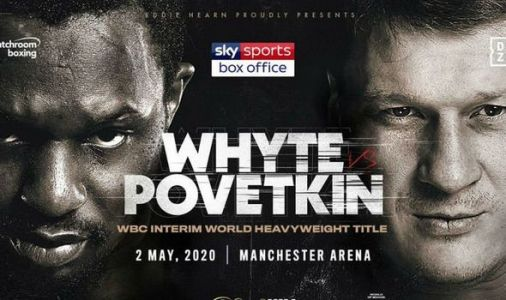 Dillian Whyte vs Alexander Povetkin to be axed due to COVID-19 outbreak, Eddie Hearn says