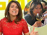 GMB's Susanna Reid jokes she's 'desperate for a drink' ahead of the National Television Awards