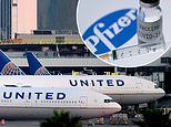 United Airlines flies FIRST batches of Pfizer COVID vaccine into US in refrigerated cases