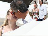 EDEN CONFIDENTIAL: Kiss seals Lady Kitty Spencer's romance with fashion tycoon 32 years her senior