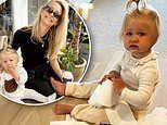 Anna Heinrich shares a cheeky photo of daughter Elle up to mischief with a toilet paper roll