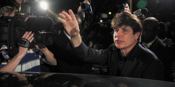 Trump commutes sentence of former Illinois Gov. Rod Blagojevich