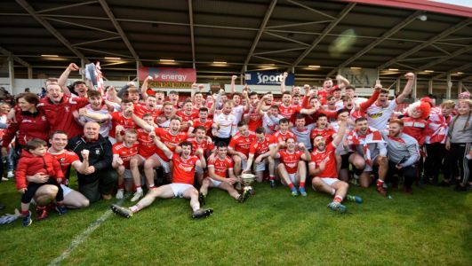 There's a limited diet of fixtures but Derry's Cush is still eyeing a title encore