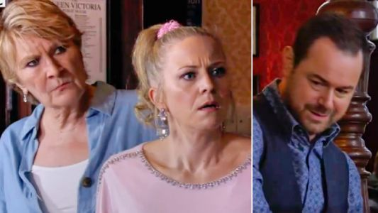 EastEnders spoilers: Mick and Linda Carter caught out tonight as their big secret spreads around Walford