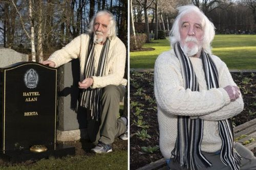 Man declares 'I'm still alive' after discovering his own gravestone in cemetery