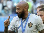 Thierry Henry quits £10m Sky role in quest to become a manager. and he's already had three offers