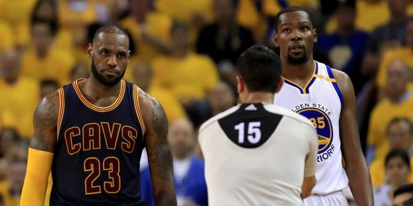LeBron James' best chance to win with the Lakers might be to pick apart the Warriors from inside