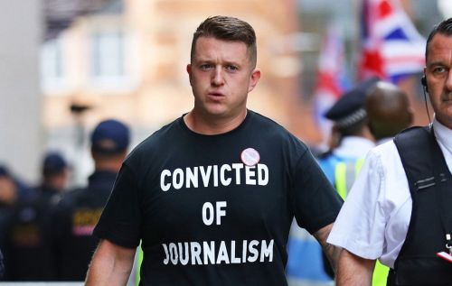 Tommy Robinson 'punched in the shower by inmate, 70, for acting like a celebrity'