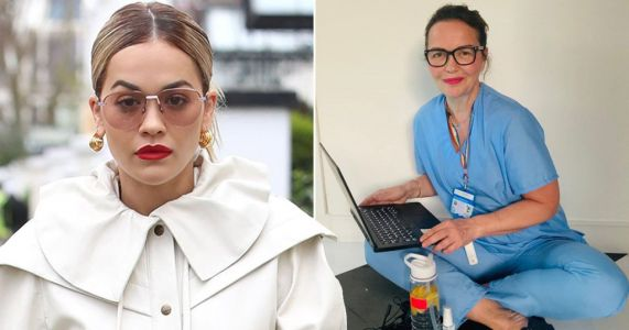 Rita Ora is 'so proud' of NHS worker mum Vera as she celebrates 72 years of health service