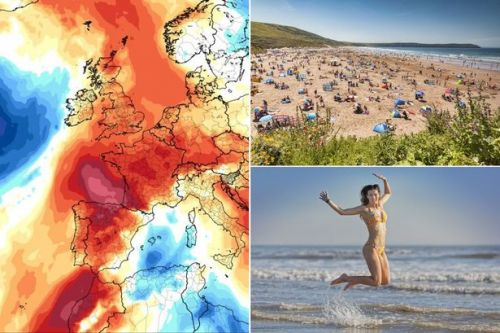 UK weather: 'Tropical heat surge' set to rescue summer by Bank Holiday weekend