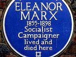 Feminists see red over pink plaques