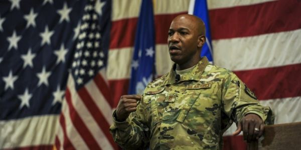 Air Force's top enlisted leader writes passionate post revealing greatest fear is waking up to find a black airman was killed by police