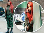 Mary J. Blige turns into an action hero as she gets to work on set of new movie