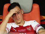 Mesut Ozil left out of Arsenal squad for Sheffield United clash
