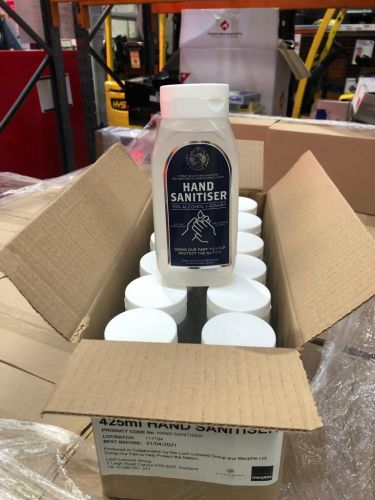 Oro, Shetland and Loch Lomond distilleries join sanitiser production drive with donations to NHS and care services