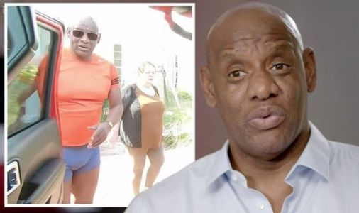 Shaun Wallace leaves 'little to the imagination' with tight trunks on Chaser's Road Trip