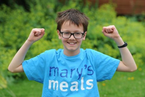 Youngster finishing off weeks of charity efforts with run to East Kilbride