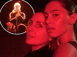 Sadie Frost supports son Rafferty Law as he rocks out on stage with his band