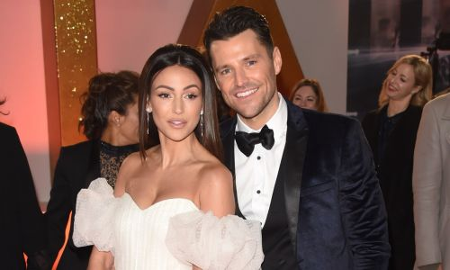 Michelle Keegan poses with husband Mark Wright at the NTAs and wait until you see her dress!