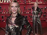 Cate Blanchett stuns in shimmering leopard print jumpsuit at Milan Fashion Week