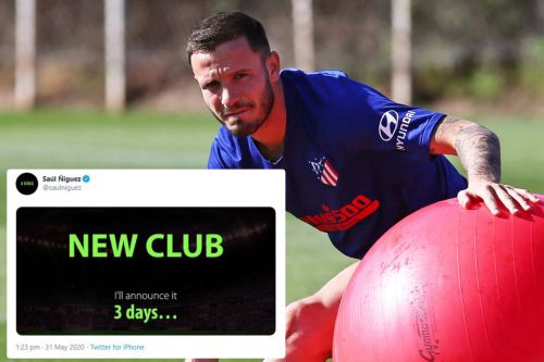 Man Utd on red alert as transfer target Saul Niguez posts tweet saying he will announce 'new club' in three days