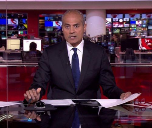 BBC News's George Alagiah says having cancer equipped him to fight coronavirus as he tests positive
